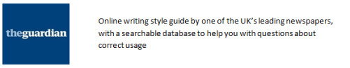 3 Guardian Style Guide