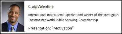 Example of excellent presenter / public speaker