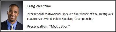 Example of excellent presenter / public speaker