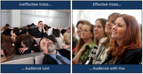 How your voice engages or loses your audience