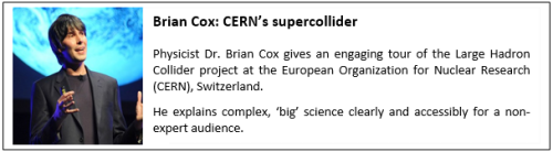 Example of an effective presentation 3_Brian Cox_CERN's supercollider